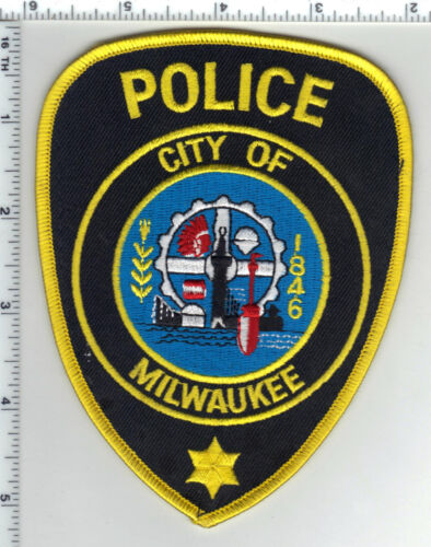 City of Milwaukee Police (Wisconsin) Patch from a wall display