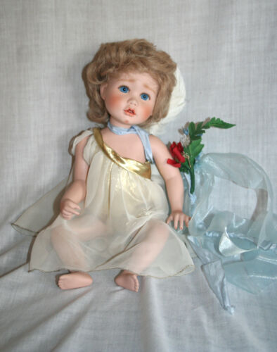 Sweet Cherub Porcelain Doll Ellenbrooke Dolls Original Box
