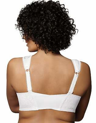 Playtex 18 Hour Easier On Front-Close Wirefree Bra Flex Back Women Comfort Strap