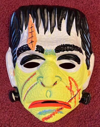 Vintage Ben Cooper 29-Cent Frankenstein Monster Halloween Mask - Unused & NICE