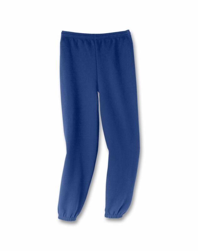 Hanes Youth Sweatpants Boys Kid Girls ComfortBlend EcoSmart Elastic Cuffs Sweats