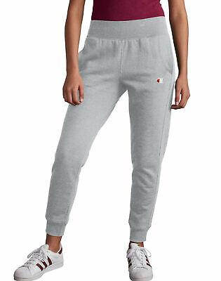 Joggers Sweatpants Champion Life Women's Reverse Weave C Logo Pockets Tailored
