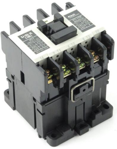 Fuji Electric SJ-1SG/UL SJ1SGUL 25-Amp 240VAC Contactor with 24VDC Coil