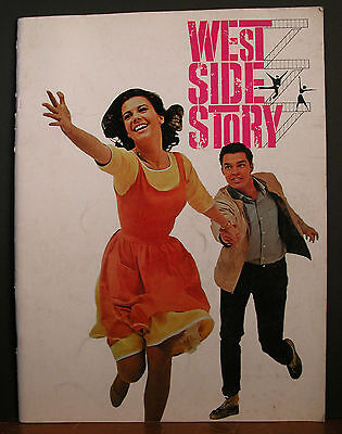 West Side Story Original Promotional Movie Magazine Natalie Wood Richard Beymer