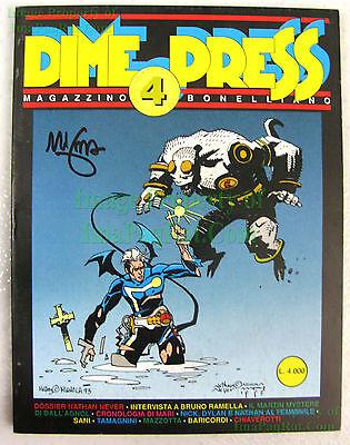 Dime Press #4 SIGNED Mike Mignola 1st Appear of Hellboy May 1993 VHTF Big Pics!