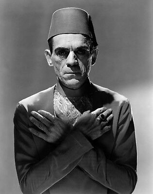 Boris Karloff The Mummy Photo Art Halloween Photos Artwork 8x10 - Halloween Mummy Art