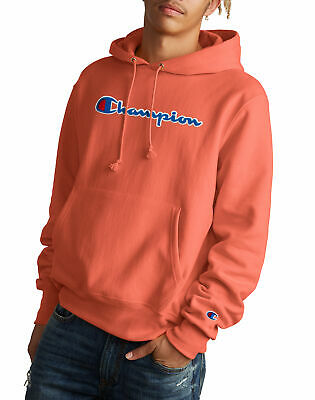 Champion Reverse Weave Sweatshirt Pullover Hoodie Life Men Script Chenille (Champion Life Mens Reverse Weave Pullover Hoodie)