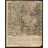 """Attack Capture of Fort Donelson, Tennessee, U.S Grant, Civil War MAP, 20""""x16"""""""