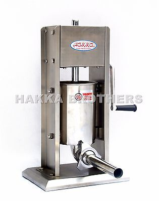 New Hakka 3L Sausage Stuffer Vertical Stainless Steel 3Lb-7Lb Meat Filler