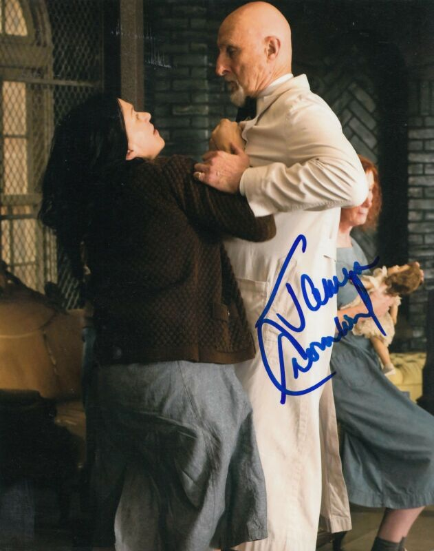 JAMES CROMWELL signed (AMERICAN HORROR STORY) 8X10 photo W/COA Dr Arthur Arden 2
