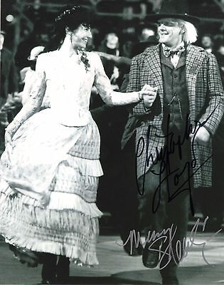 Christopher Lloyd   Mary Steenburgen Back To The Future Iii Signed 8X10 Photo