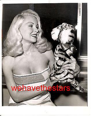 Vintage Joi Lansing BUSTY SEXY BEAUTY '59 TV Press Publicity Portrait