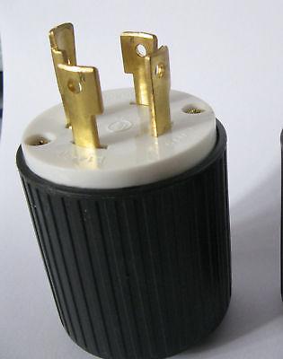 L14-30 Locking Male Plug - 30amp 125250volt - Ul Approved