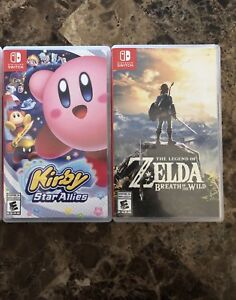 Nintendo Switch games $60 each/$110 for both. (SOLD)