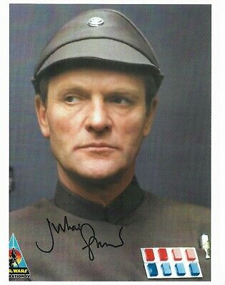 "Julian Glover  ""STAR WARS"" 10"" x 8"" Genuine Signed Autograph  22093"