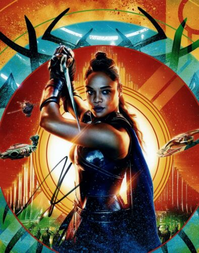 Tessa Thompson Signed Autographed 8x10 Photo THOR RAGNOROK Actress COA