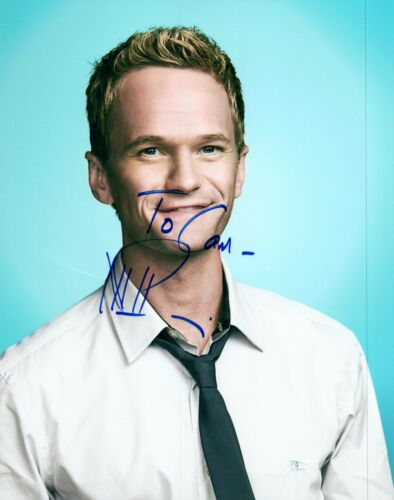 Neil Patrick Harris Signed Autographed 8x10 Photo How I Met Your Mother COA