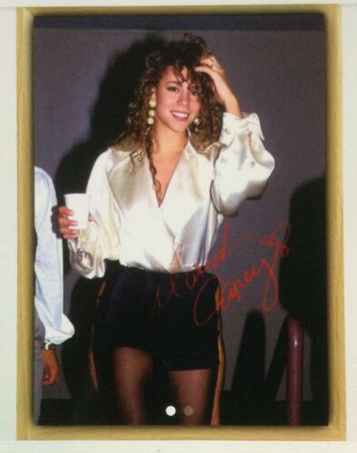 MARIAH CAREY / 1992 HIGH-QUALITY PHOTO WITH FRAME