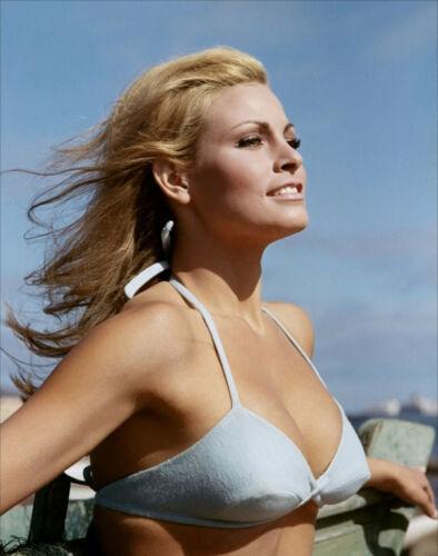 RAQUEL WELCH IN THE 1960S SEXY BIKINI PHOTO