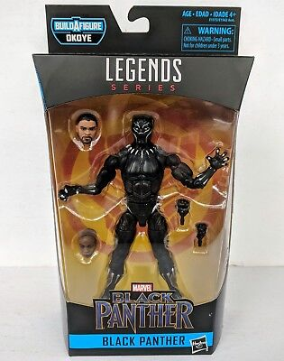 "Marvel Legends BLACK PANTHER Movie 2018 6"" Action Figure BAF Okoye - MIB"