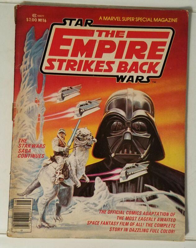 MARVEL SUPER SPECIAL # 16 - STAR WARS THE EMPIRE STRIKES BACK - 1980