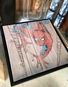 Spider Man poster with Frame