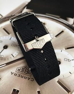 20mm TAG Heuer Buckle & NATO ® Strap Black