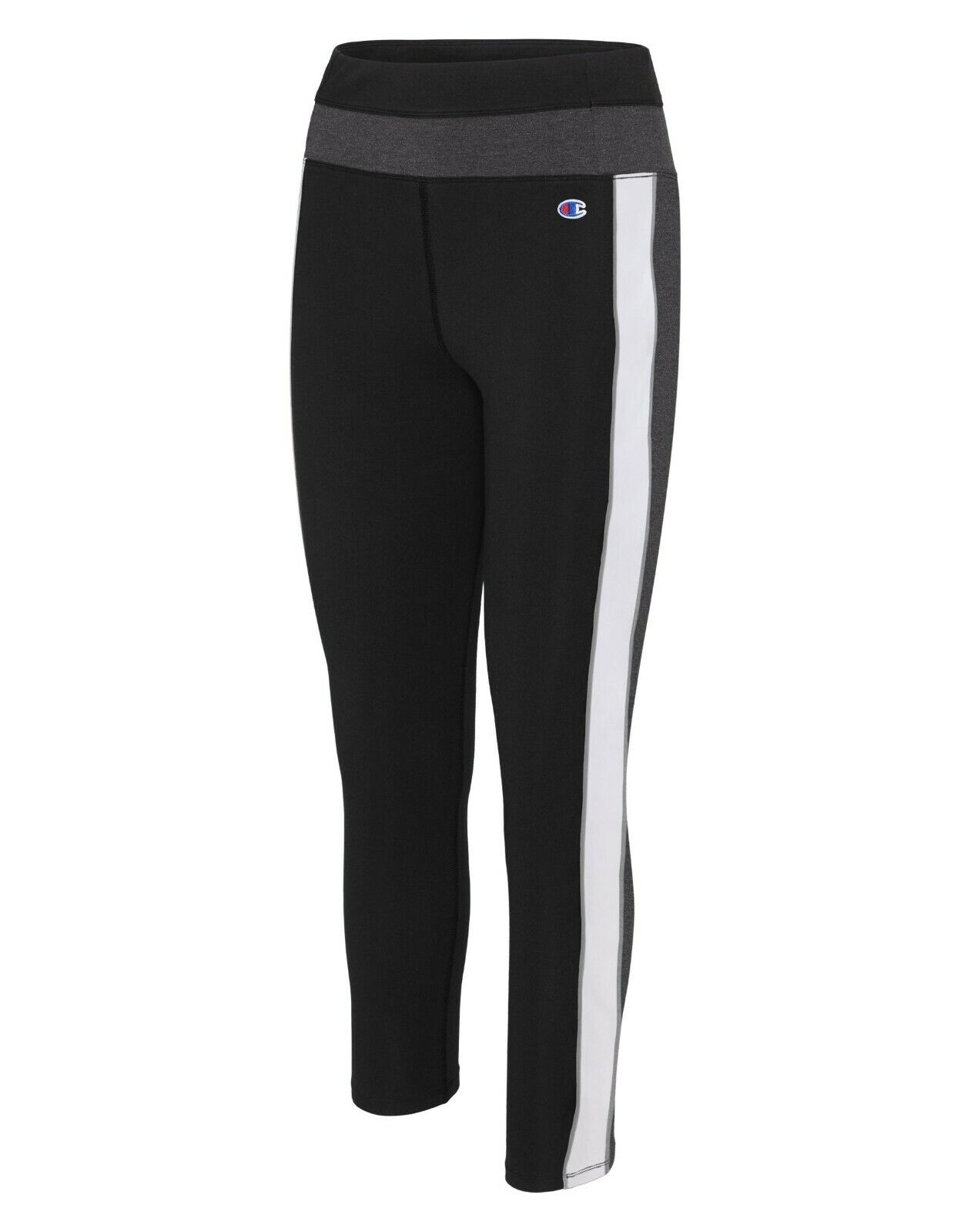 Nwot Champion Womens Black Stretch Athletic 7 8 Leggings Pants Size M Ebay