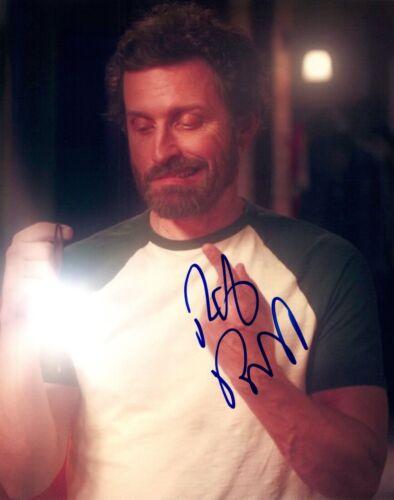 "Rob Benedict Signed Autographed 8x10 Photo ""God"" SUPERNATURAL Actor COA"