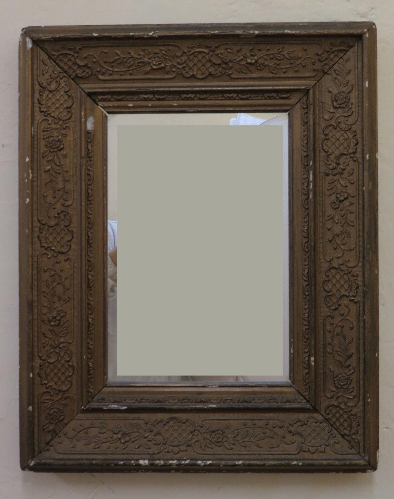 Frame Antique Liberty Art Nouveau Floral Eclectic for Paintings Mirror SU2