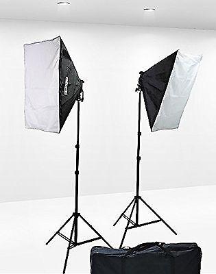 1600 Watt Softbox Lighting Kit Video Lighting Kit Two Softbo