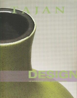 TAJAN Design Nov 2002 Catalog Furniture Lighting Mategot Perriand Jouve Prouve