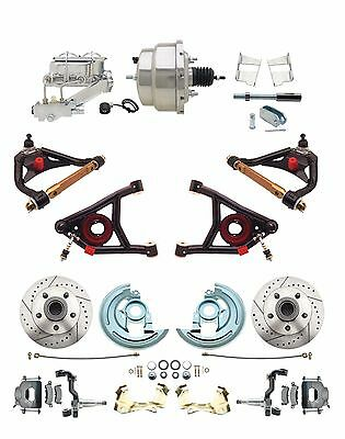 1964 72  A Body Performance Chrome Disc Brake Suspension Package all in one