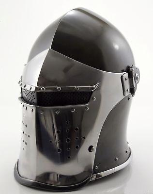Buy Roman Armour (Medieval Barbute Helme Armour Helmet Roman knight helmets.NEW FOR SALE BUY)