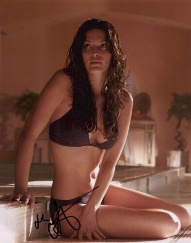 ALANA DE LA GARZA signed Autographed 8X10 PHOTO - FBI Law & Order SEXY Hot COA