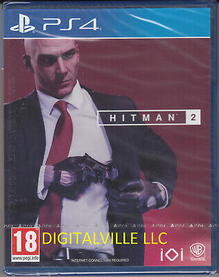 Hitman 2 PS4 PlayStation 4 Brand New Factory Sealed