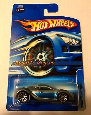 Hot Wheels BUGATTI VEYRON #144 Gray/Blue