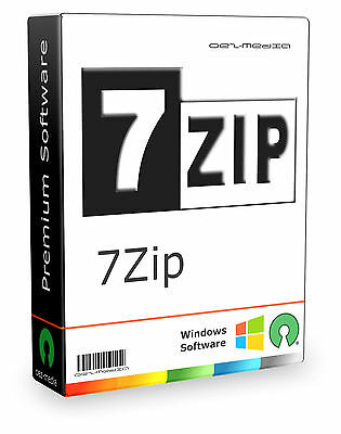 WINZIP / UNZIP / WINRAR / ZIP / 7ZIP / Software / Packprogramm / Zum Extrahieren online kaufen