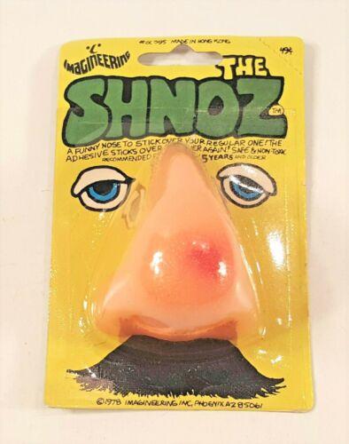 VINTAGE NEW 1978 IMAGINEERING THE SHNOZ JOHNSON SMITH CATALOG HALLOWEEN NOSE