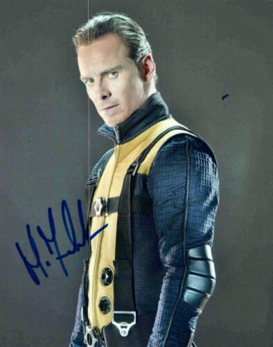Michael Fassbender Signed Autographed 8x10 Photo X-Men Assasin's Creed COA VD