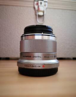 Olympus 45mm F1.8 Lens - Micro Four Thirds M4/3 M43
