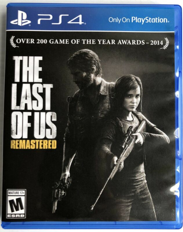 THE LAST OF US REMASTERED GAME IS BRAND NEW FACTORY SEALED FREE SHIPPING
