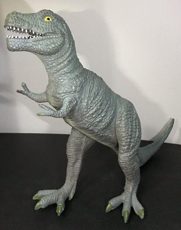 """Vintage Tyrannosaurus T-Rex Dinosaur Figure 13"""" - 1999 TM"""