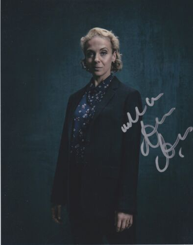 Amanda Abbington Signed Sherlock 10x8 Photo AFTAL