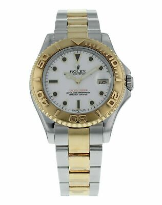 Rolex Yacht-Master Gold Dial Stainless Steel and 18k Gold 35mm Watch 68623 comprar usado  Enviando para Brazil
