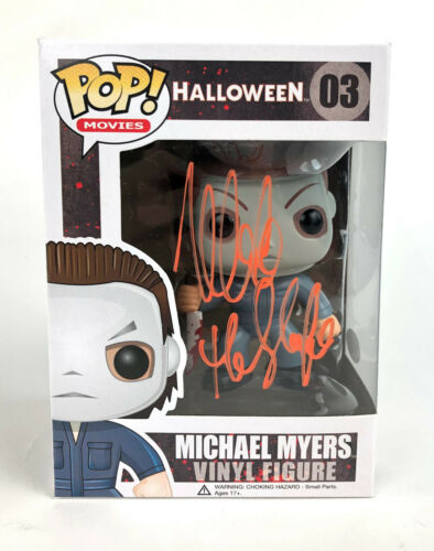 "Nick Castle Autograph Signed Funko Pop - Halloween ""Michael Myers"" (JSA COA)"