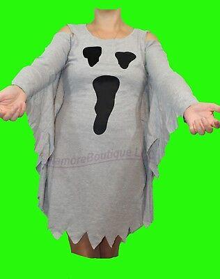 Ghost or Spiderweb Plus Size Jersey Dress Costume XL XXL 2XL XXXL 3XL - Female Plus Size Halloween Costumes