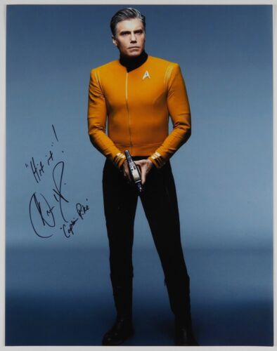 Star Trek Discovery JSA Anson Mount Captain Pike Autograph Signed 11 x14