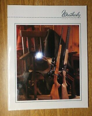 Ammunition 2003 Weatherby Products Catalog Firearms Outerwear