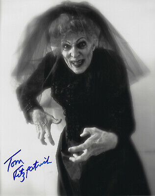 Bride In Black (Tom Fitzpatrick Insidious Bride in Black hand signed 8X10 photo w COA)